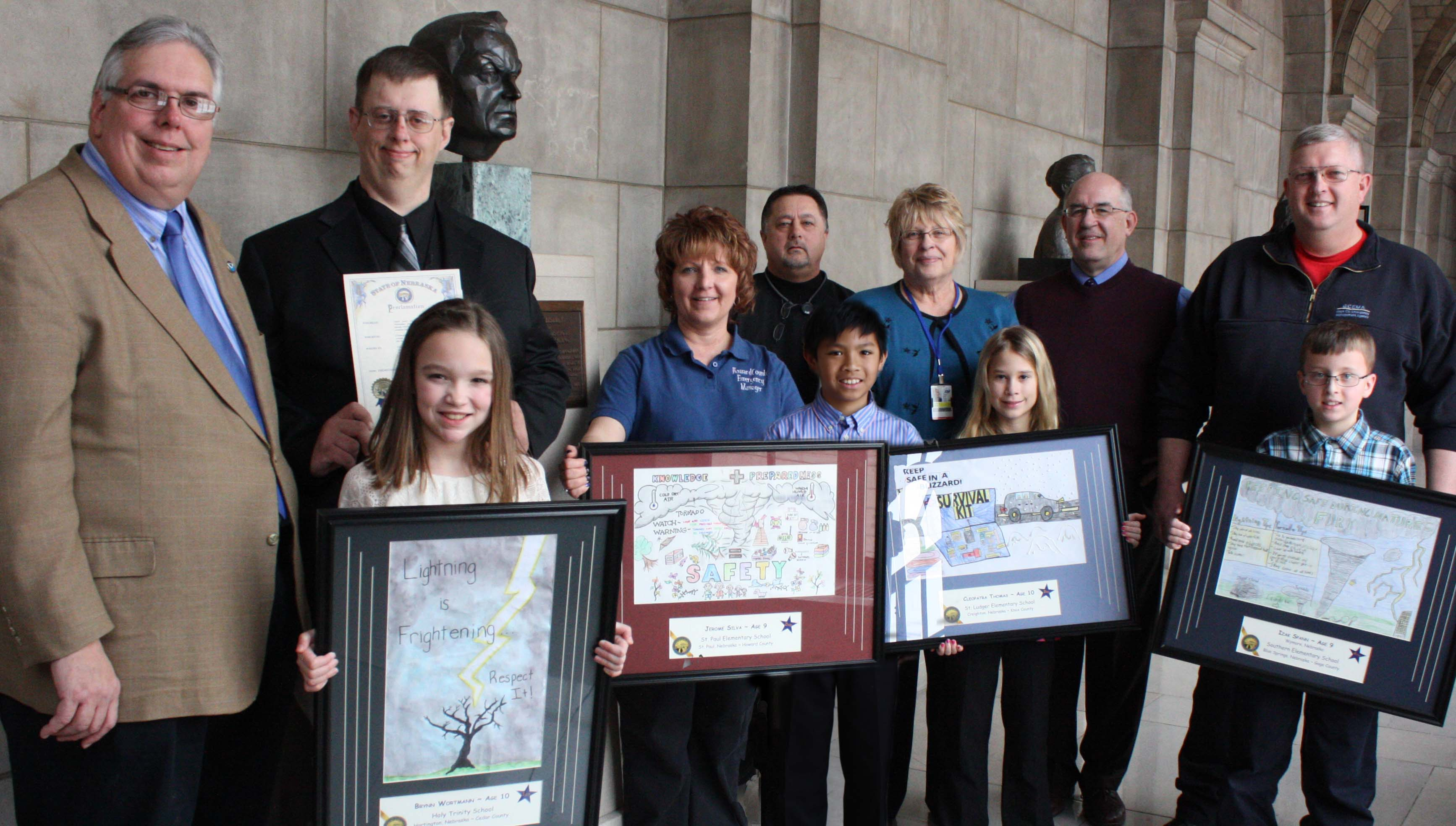 2013 Nebraska Severe Weather Poster Winners